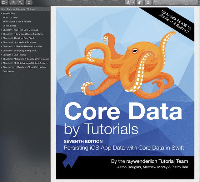 Core Data By Tutorials Ray Wenderlich