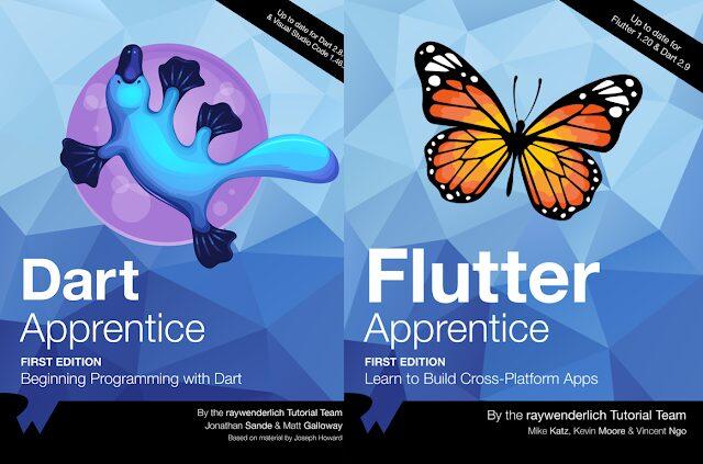 Flutter Bundle By Ray Wenderlich