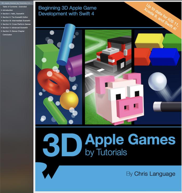 3D Apple Games by Tutorials
