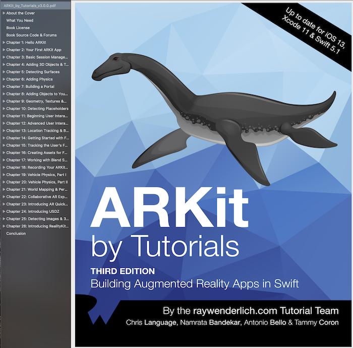 ARKit by Tutorials